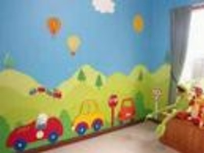 Playscapes A new idea in kids room decorating!