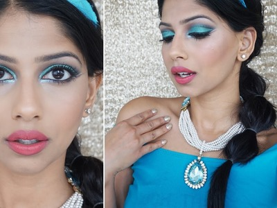 Princess Jasmine ! Makeup Tutorial and DIY accessories!