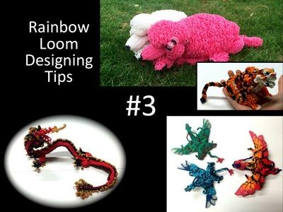 Rainbow Loom Designing Tips #3: Flat…3D…Double-Looped. Single?