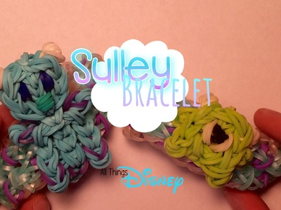 Rainbow Loom Sulley Bracelet | Monsters Inc.
