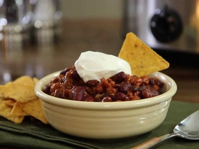 Slow Cooker Recipes - How to Make Turkey Chili