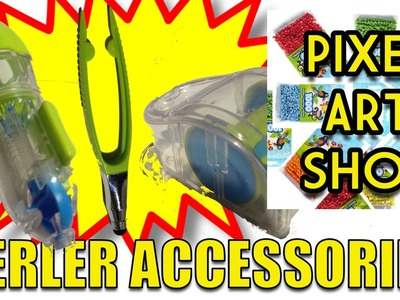 Super Perler Bead Accessories - Pixel Art Show