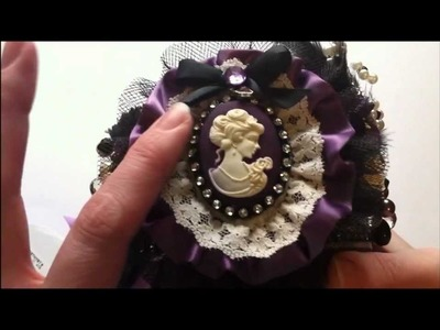 Victorian Style Pin Cushion ~  A Gift for a Friend ~