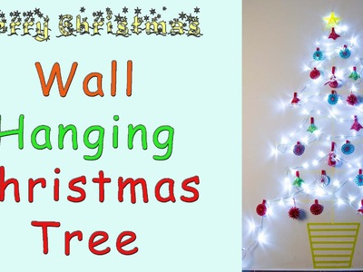 Wall Hanging Christmas Tree | Washi Tape
