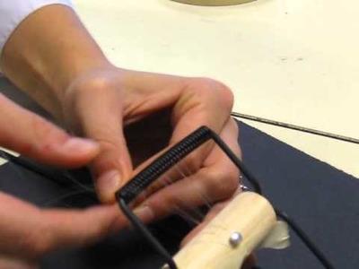 Warping a Bead Loom