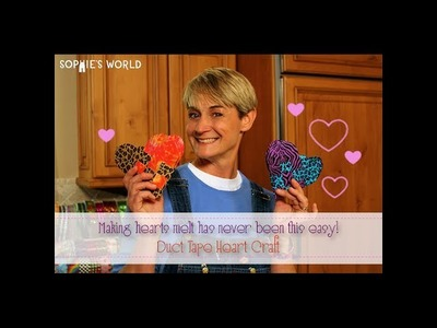Woven Duct Tape Heart|Sophie's World