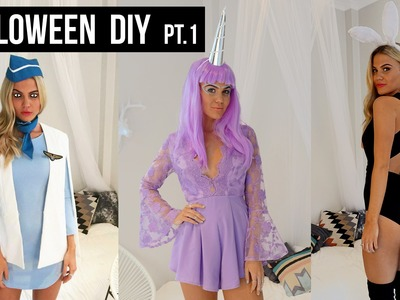 5 Halloween DIY Costumes Part 1