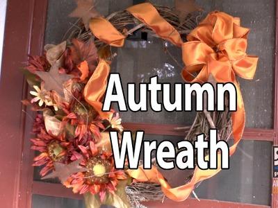 Autumn Wreath DIY Project With Goodwill Home Decor Expert Merri Cvetan