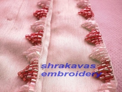BEAD EMBROIDERY:HOW TO SEW BAMBOO BEAD SPROUTS