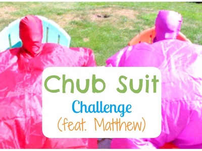 Chub Suit Challenge (feat. Matthew) | Alexa's DIY Life