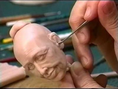 Creager Sculpting Lesson 5.  EARS! EARS! EARS!