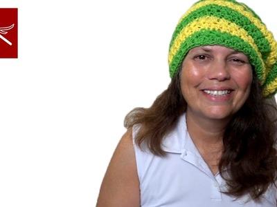 Crochet Geek Star Stitch Hat Tutorial Part 6