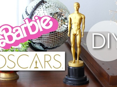 DIY BARBIE OSCARS