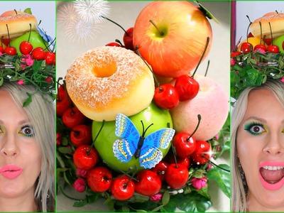 DIY Crafts Fruit Headdress Hat Hair Accessories