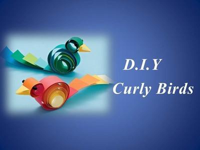 DIY - Curly Birds (Easy)