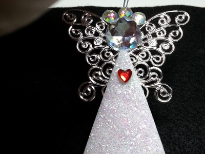 DIY Easy and Gorgeous Personalized Angel Ornaments!