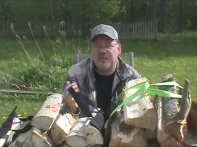 DIY Firewood Carrrier for a Buck!