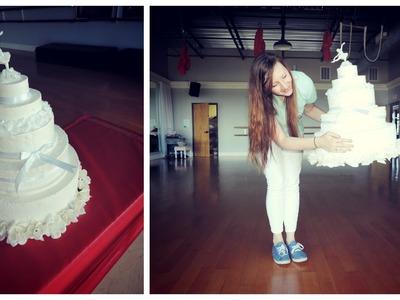 DIY Giant Fake Cake