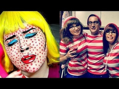 DIY Halloween Costumes: 30 Extremely Creative DIY Costumes