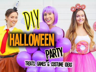 DIY Halloween Party | Games, Costume Ideas & Treats