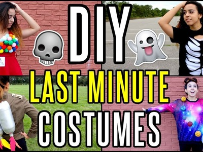DIY Last Minute Cheap & Easy Halloween Costume Ideas | rosaliesaysrawr
