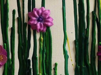 DIY Melting Crayons into Art