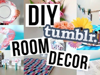 DIY Room Decor & Organization | Tumblr Inspired