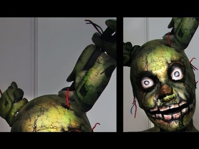 DIY Springtrap Ears | Five Nights At Freddy's 3