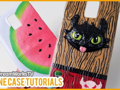 DIY Toothless & Watermelon Phone Cases! feat. on DreamWorksTV