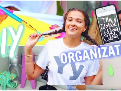 DIY Tumblr Desk Decor & Organization For BACK TO SCHOOL!