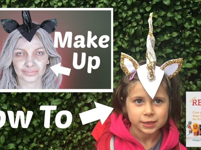 DIY Unicorn Horn Craft made from Brown Paper Bags! in Collaboration with AdviseMyStyle