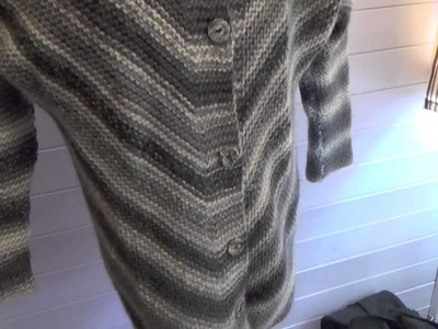 Drops Garnstudio Knitting Pattern Haze Jacket 150 22