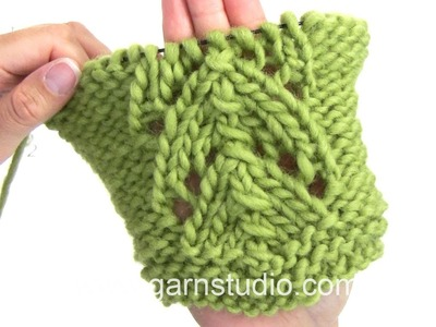 DROPS Knitting Tutorial: How to work chart A.2 in DROPS 166-15