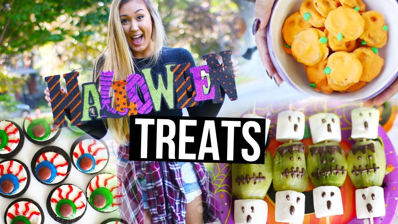 Easy DIY Halloween Treats & Snacks | LaurDIY