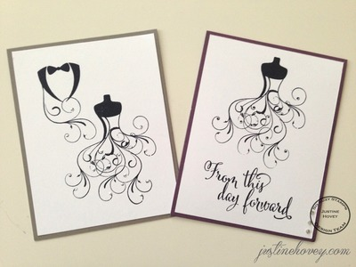 Easy DIY Handmade Save the Date Cards How-to