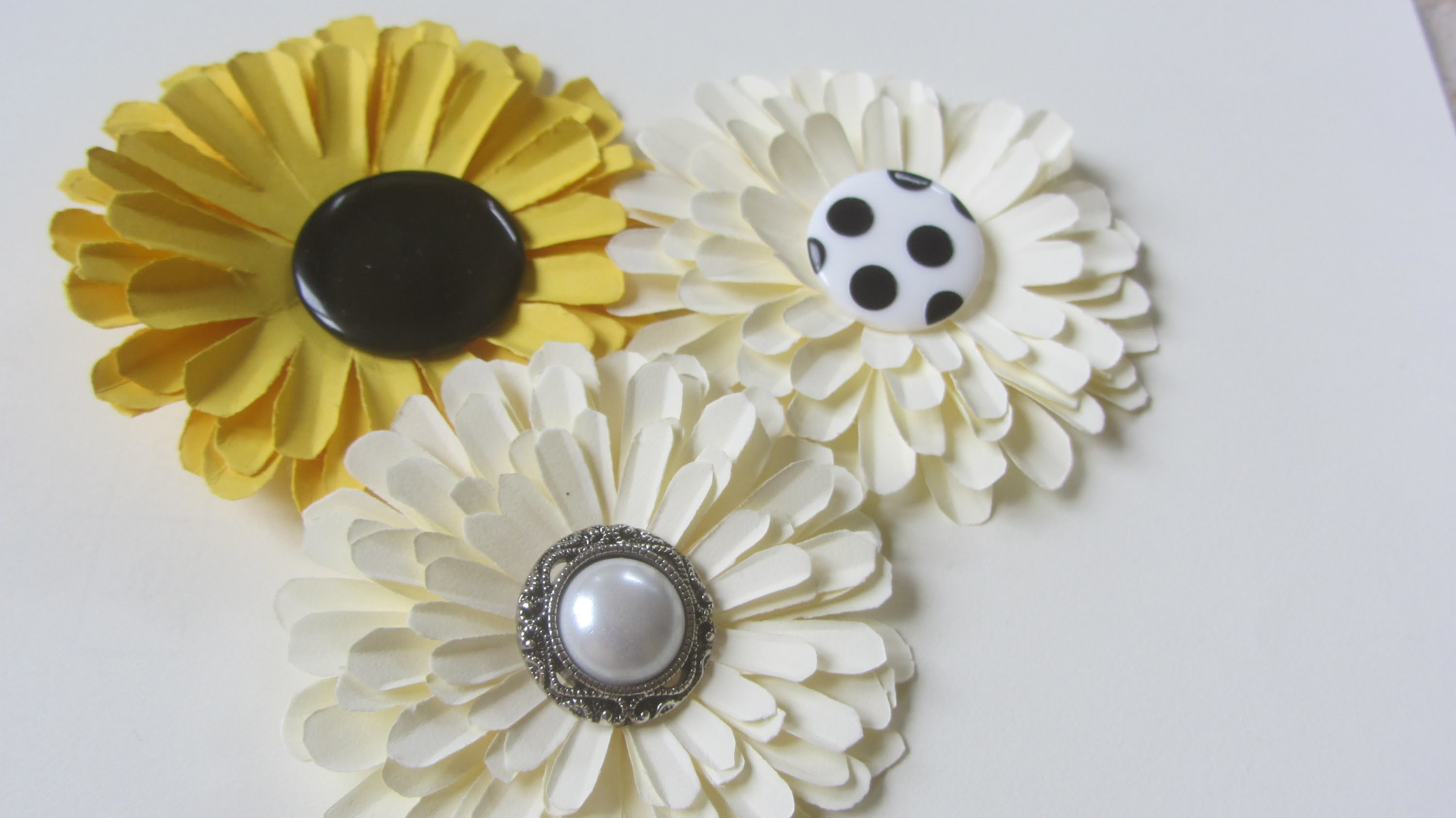 Easy Way to Make Paper Flowers Without Paper Punch