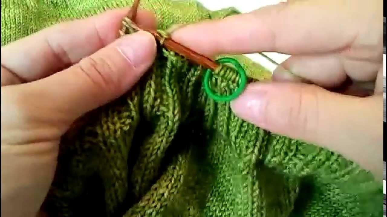 Extra stretchy bind off in 2x2 ribbing - knitting