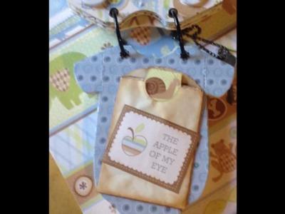 First project video!!!  Baby Boy (Shower) Gift Ideas, Onesie Mini Album