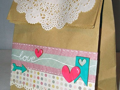 How To Create A Pretty Decorated Paper Bag - DIY Crafts Tutorial - Guidecentral