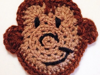 How To Crochet A Pretty Monkey Applique - DIY Crafts Tutorial - Guidecentral