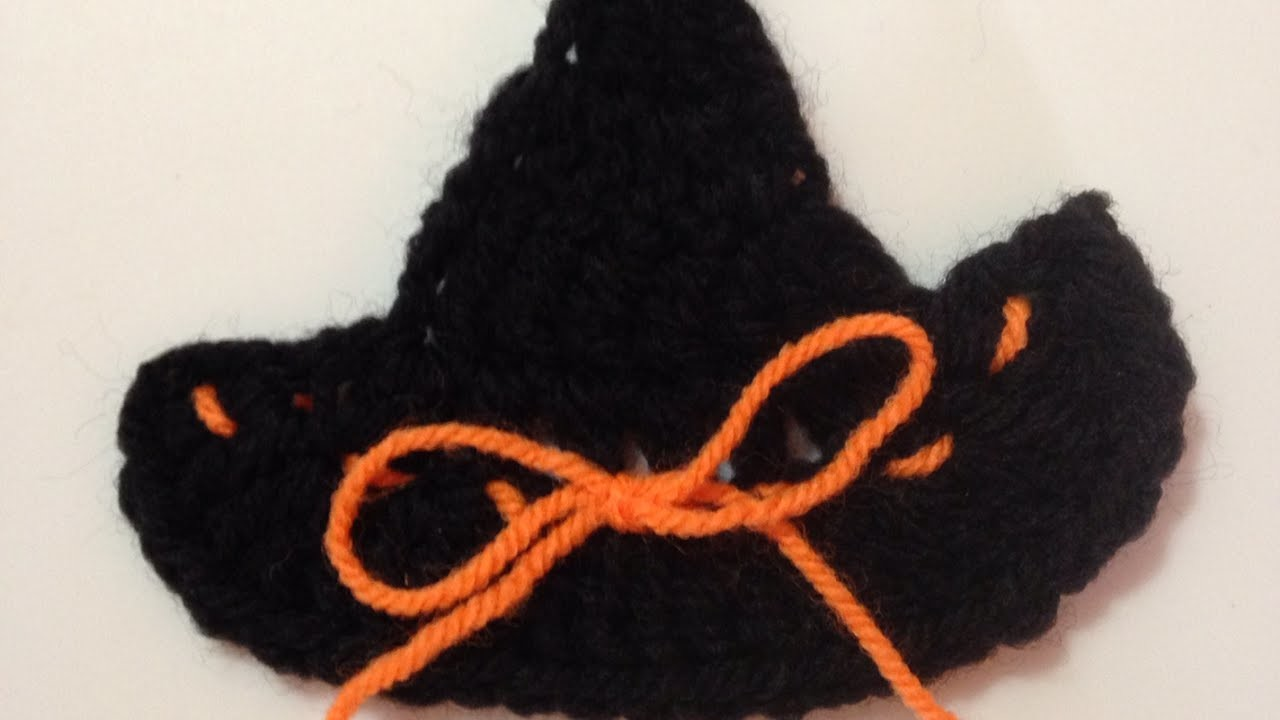 How To Crochet A Witch Hat Applique - DIY Crafts Tutorial - Guidecentral