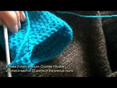 How To Crochet Easy Slipper Shoes - DIY Style Tutorial - Guidecentral