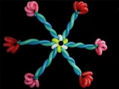 How to Make a Big Balloon Star