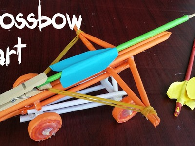 How to make a How to make a Paper Crossbow Cart | Ballista