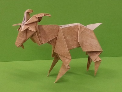 How To Make An Origami Goat