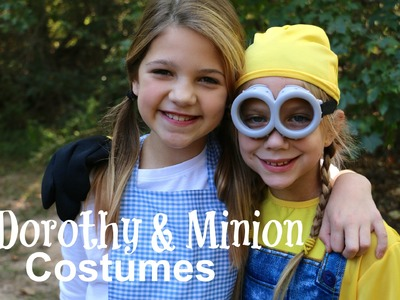 How to Make Dorothy Halloween Costume DIY | Minions Costumes & Trick-or-Treating | Jazzy Girl Stuff