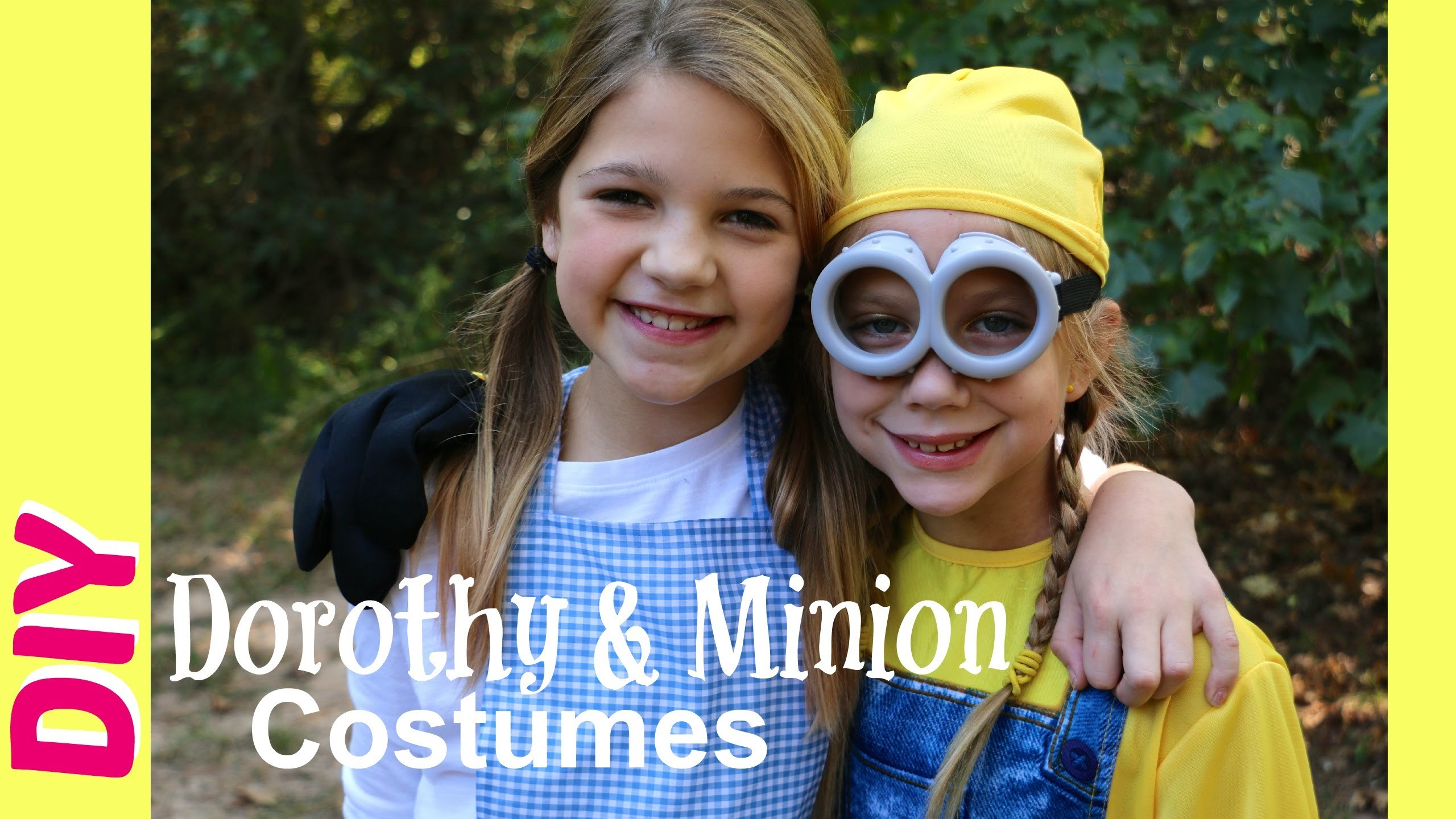 How to Make Dorothy Halloween Costume DIY   Minions Costumes & Trick-or-Treating   Jazzy Girl Stuff