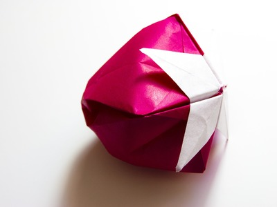 How to make paper Origami Strawberry