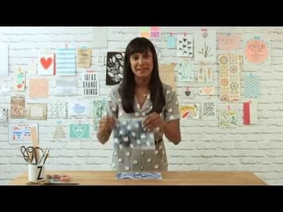 How to Print Fabric: Stencil Printing with Torn Paper Tape