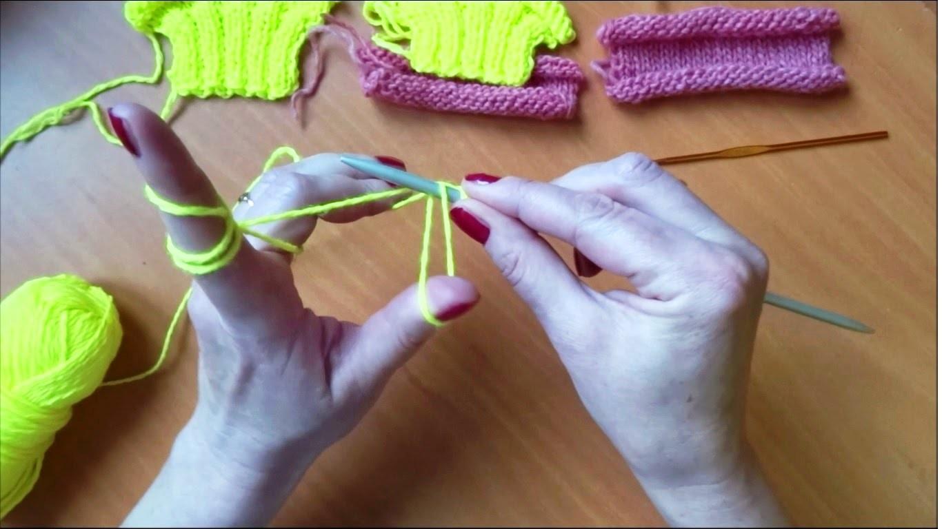 Kako se započinje pletenje (How to begin knitting) - Pletenje 1
